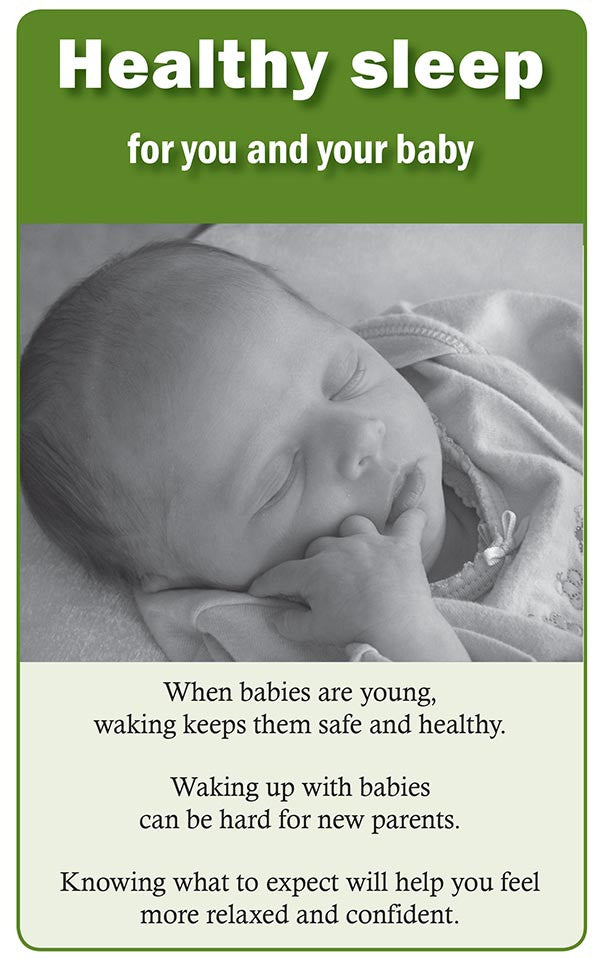 Healthy sleep for you and your baby