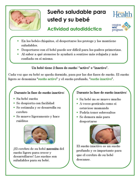 Healthy sleep for you and your baby - self-paced lesson (download from link below)