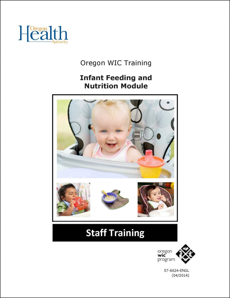 Infant Feeding and Nutrition Staff Training Module