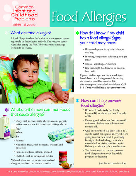 Nutrition education - children and toddlers