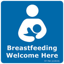Breastfeeding Welcome Here (sticker)