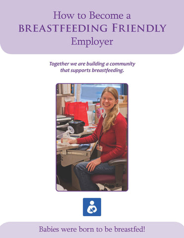 Breastfeeding Friendly Employer Packet (download from link below)