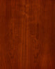 Cherry wood veneer finish