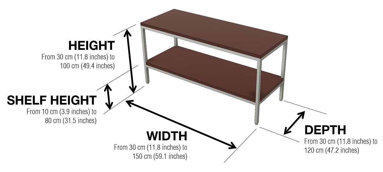 Warmly Sofa Table Dimensions and Configuration Options