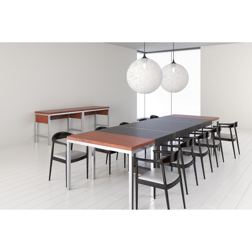 Two Extensively Buffets By 1x1 Modern Custom Furniture In A Dining Room