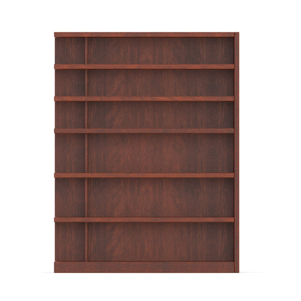 Front width view of Flexibly bookcase by 1x1 Modern Custom Furniture, custom-made and made-to-measure