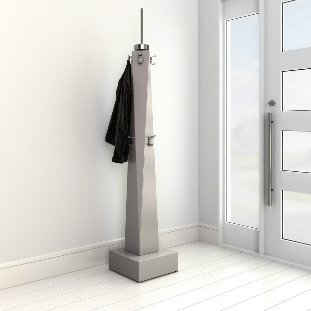 x modern freely coat rack – x modern custom furniture - freely coat rack by x modern custom furniture in a modern hallwaycustommade