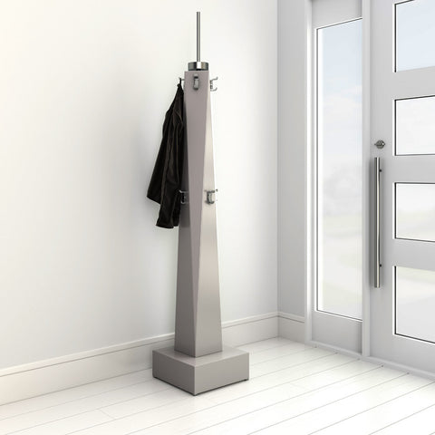 Freely coat rack by 1x1 Modern Custom Furniture in a modern hallway, custom-made and made-to-measure