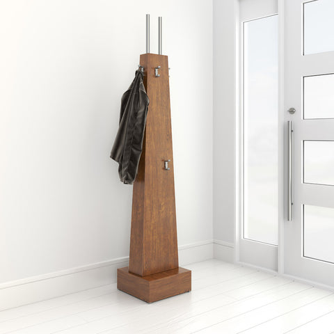 Handily coat rack by 1x1 Modern Custom Furniture in a modern hallway, custom-made and made-to-measure