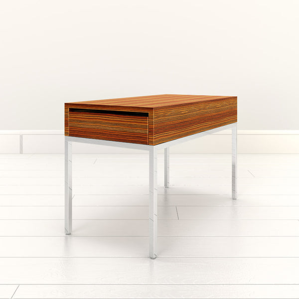 Perspective view of Initially side table by 1x1 Modern Custom Furniture, custom-made and made-to-measure