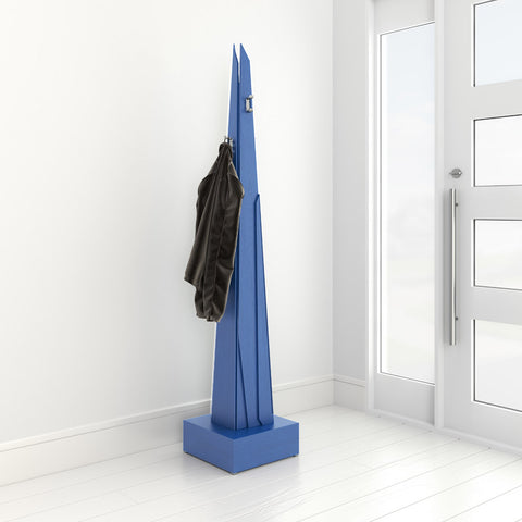 Sharply coat rack in a modern hallway by 1x1 Modern Custom Furniture, custom-made and made-to-measure