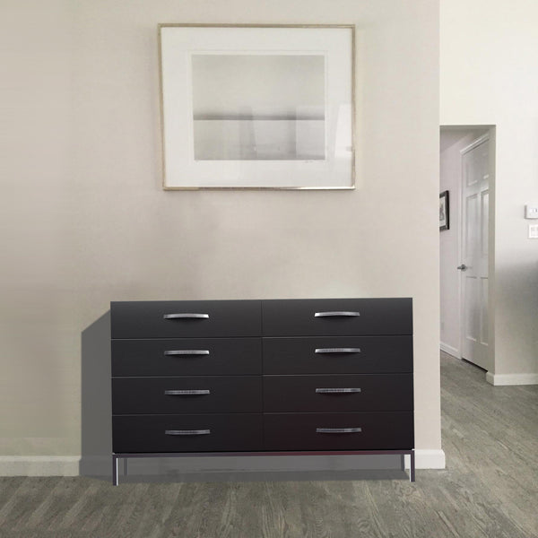 Squarely dresser by 1x1 Modern Custom Furniture in a modern bedroom, custom-made and made-to-measure