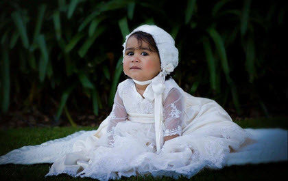 64960ceafdc9d Baptism Christening First Communion Flower Girl Little Angels Couture
