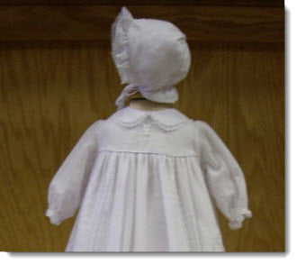 Classic Girls Christening Gown Hire - Little Angels Couture - 3