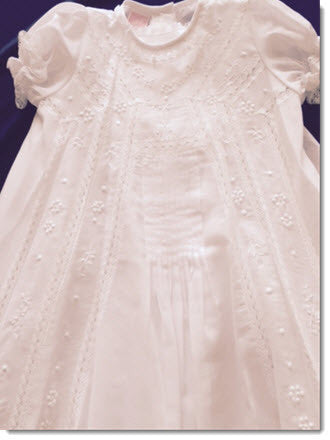 08760 Elegant Christening Gown - Little Angels Couture - 3
