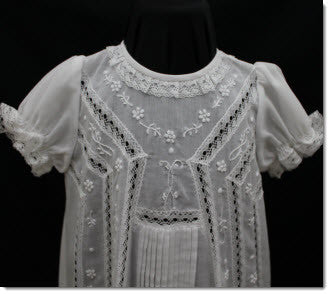 08760 Elegant Christening Gown - Little Angels Couture - 7