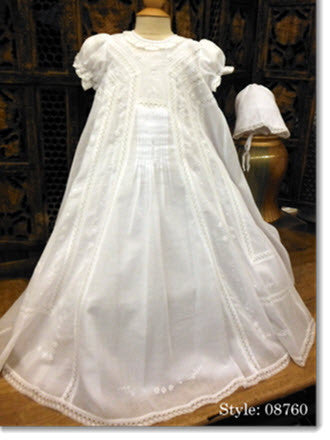 1a1473439 08760 Elegant Christening Gown - Little Angels Couture