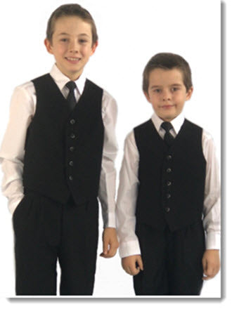 102 Boys Four Piece Vest  Set