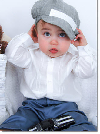 1212: Boys' Four-Piece Christening & Special Occasion Outfit - Little Angels Couture - 4