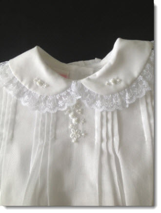 16024 Precious Short Christening Dress - Little Angels Couture - 4