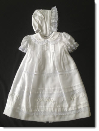 16024 Precious Short Christening Dress - Little Angels Couture - 3