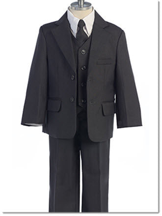 Boys 5 Piece Suit - Little Angels Couture - 1