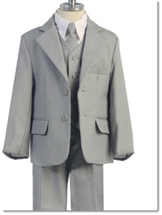 Boys 5 Piece Suit - Little Angels Couture - 2