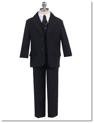 236 Boys Five Piece Suit - Little Angels Couture - 1