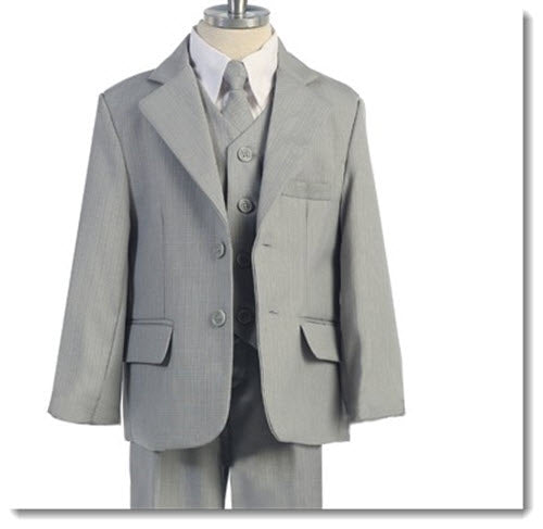 251 - Slim Fit Boys 5pce Suits