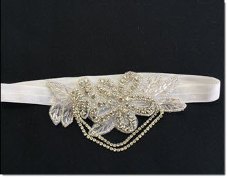 Headband with Bling Applique