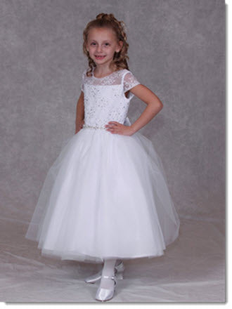 3004 Couture Communion Dress
