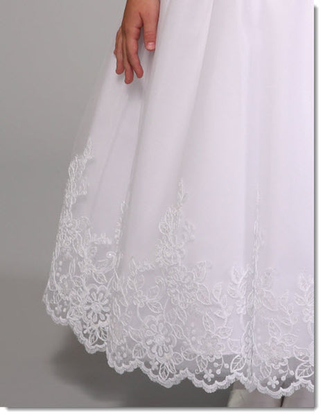 3027 Lace Communion Dress