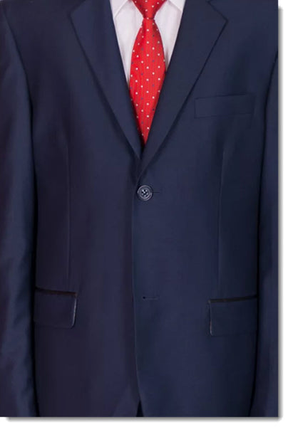 468 Boys Formal Navy Suit
