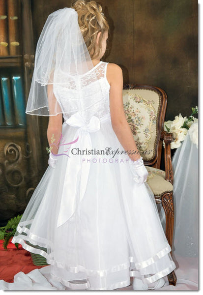 5203 - First Communion or Flower Girl Dress