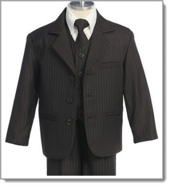 Boys 5 Piece Suit - Little Angels Couture - 3