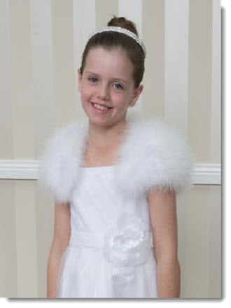 Feather Wrap - Little Angels Couture - 1