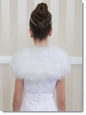 Feather Wrap - Little Angels Couture - 2