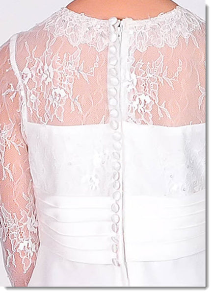 Chloe P 6112 First Holy Communion dress