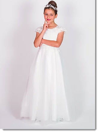 Chloe P 6117 - COMMUNION/ FLOWER-GIRL DRESS