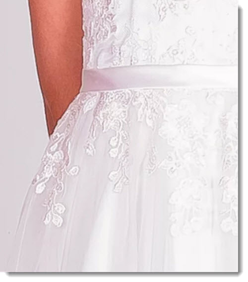 Chloe P 6118 First Communion - Flower Girl Dress