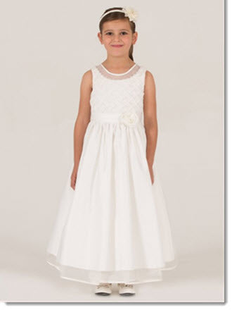 7010  Flower Girl/First Communion Dress