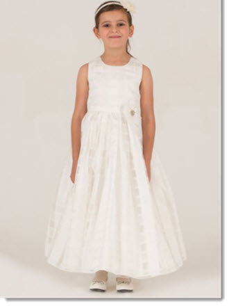 7011 Flower Girl/First Communion Dress