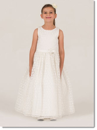 7016 Flower Girl/First Communion Dress