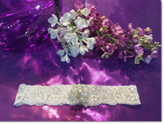 Andrea - Christening Headband