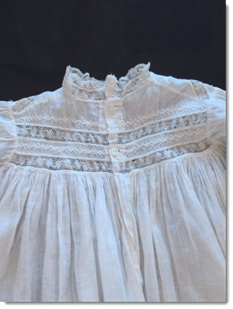 Absolutely Exquisite Antique Doll/Baby Christening Gown - Perfect!! - Little Angels Couture - 2