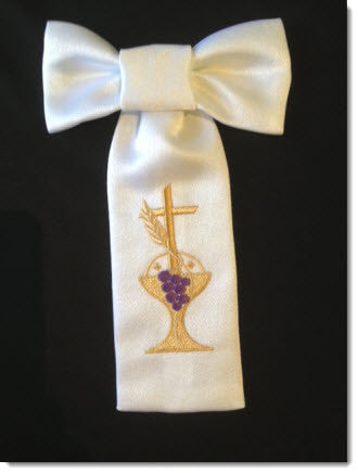 Armband with Chalice and Cross - Little Angels Couture - 1
