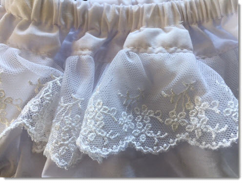 Cotton Bloomers with Fine Lace