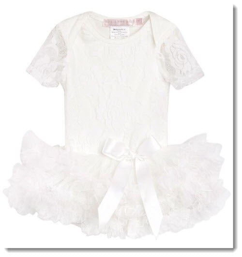 Candice Short Sleeve Lace Romper