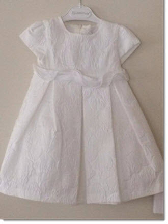Ciccino - Baroqette Flower Christening Dress