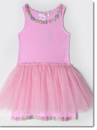 Daisy Chain Dress - Little Angels Couture